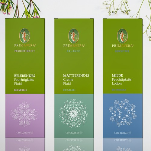 Unique Packaging Design for a holistic, nature-loving Organic Skincare