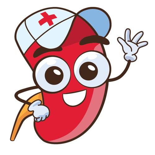 my entry for kidney transplantation mascot