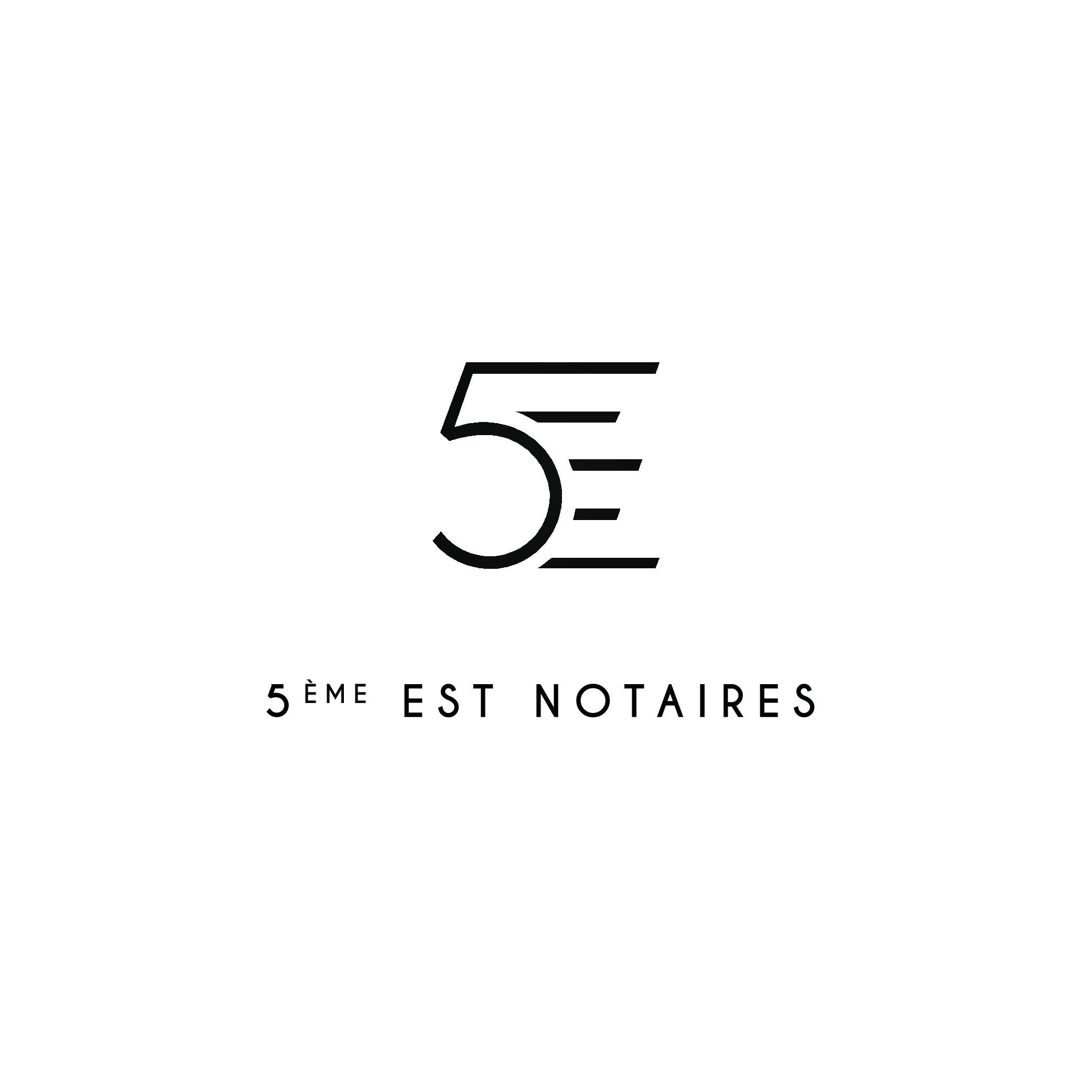 Créer un logo moderne pour 5ème EST NOTAIRES