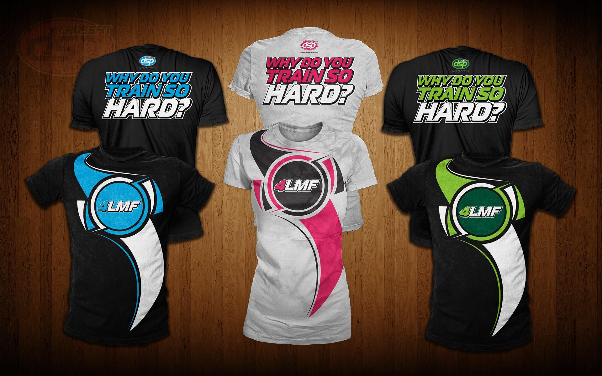 OneMoreRep CrossFit T shirt design