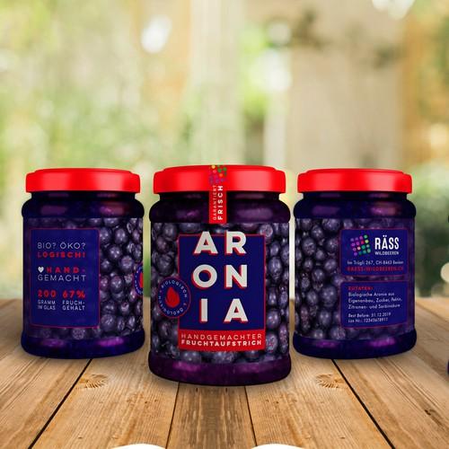 Modern Labels for homemade jams
