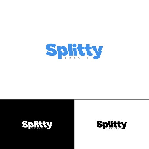 Splitty logo design