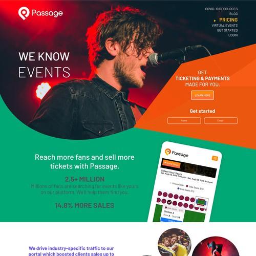 Passage Website