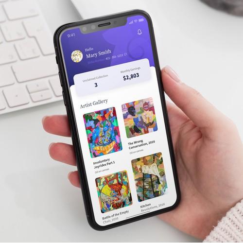 Shiba Mobile App Design