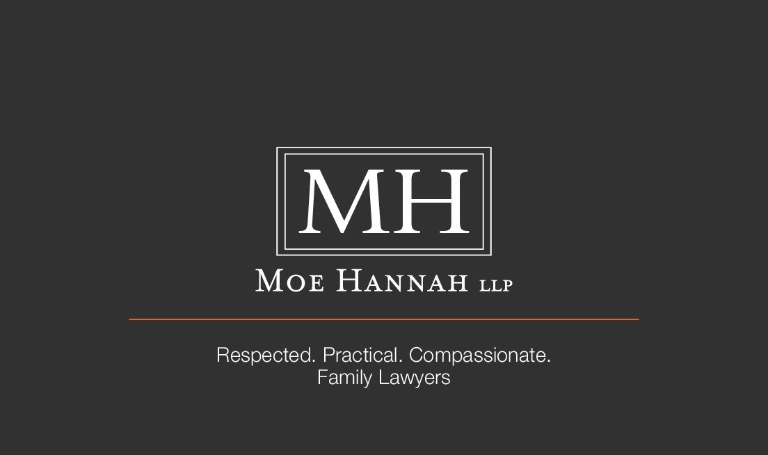 Business card design for family law firm