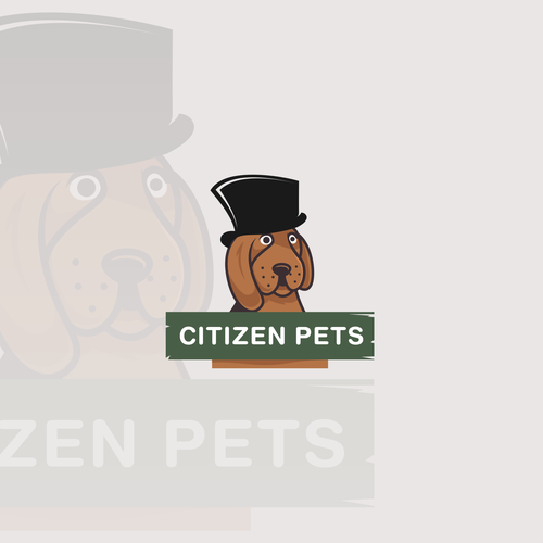 logo animal and pets. social media pack