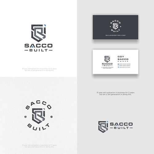 We need timeless and cutting edge Professional Contractor branding