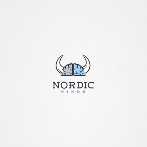 Clean nordic logo