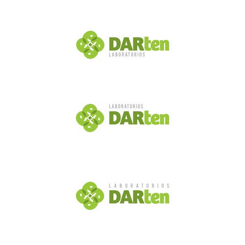 Logo for a pharmaceutical laboratory