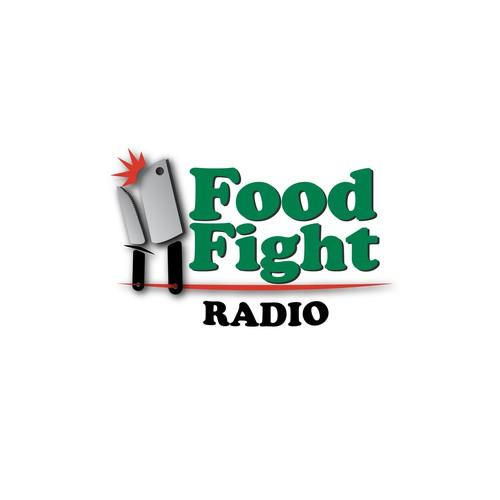 Food Fight Radio needs a new logo