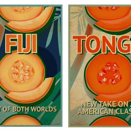 Fiji and Tonga