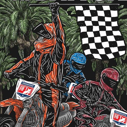 Finale Shirt illustration for AFT