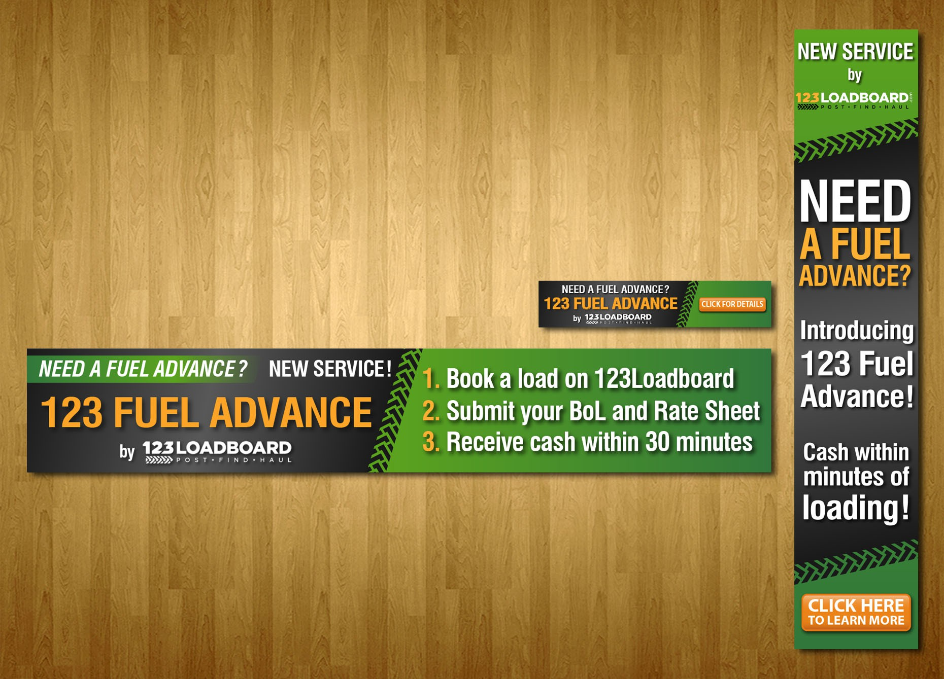 123 Fuel Advance