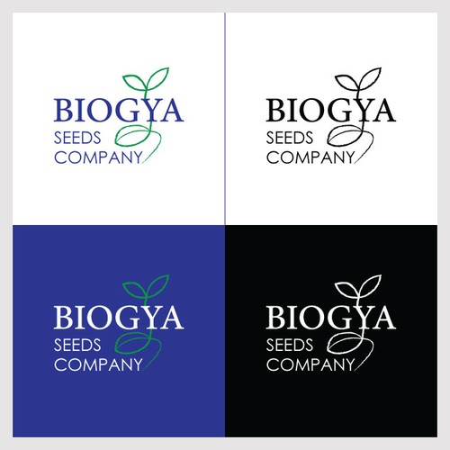 Logo concept for seeds company