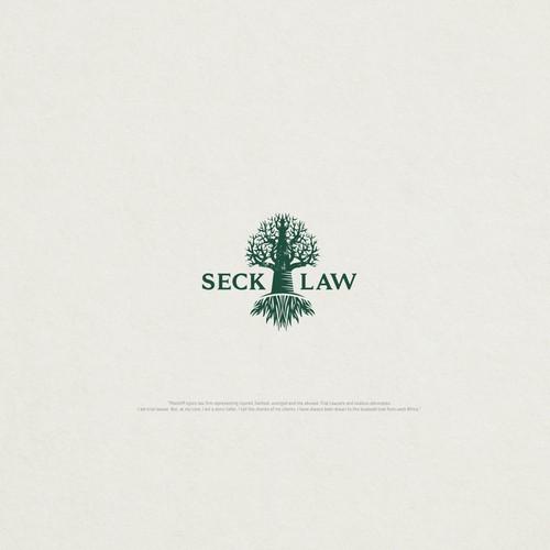 Logo fir Seck Law