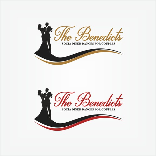 Logo concept for dance