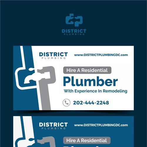 Ad Design District Plumbing!