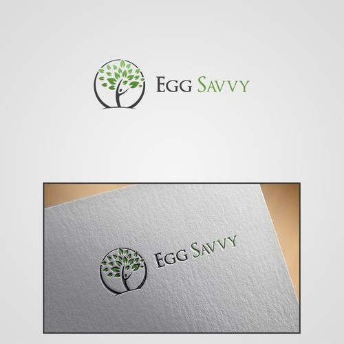 Winning entry for Egg Savvy Logo Contest