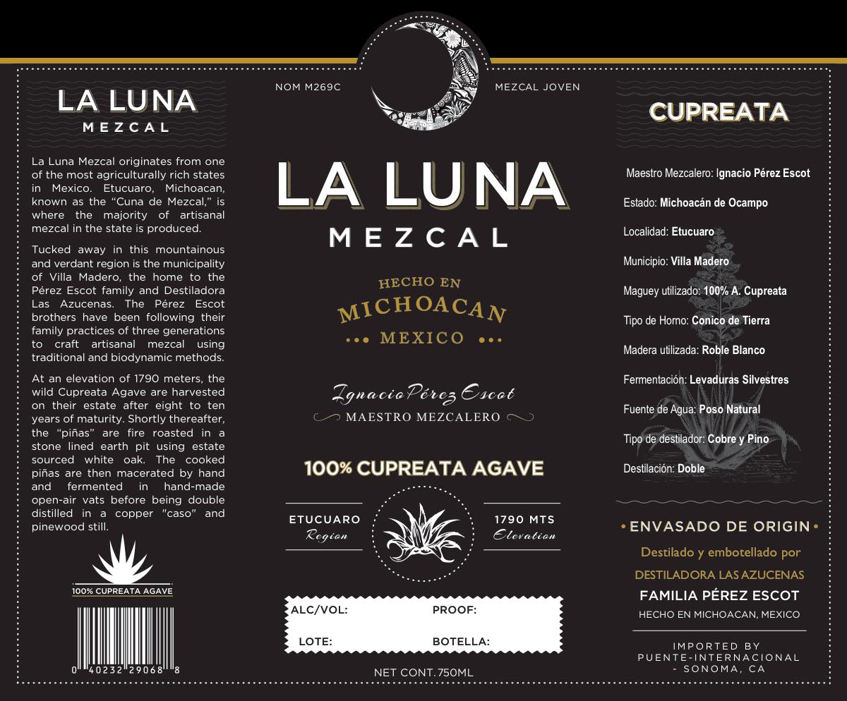 Label for Mezcal
