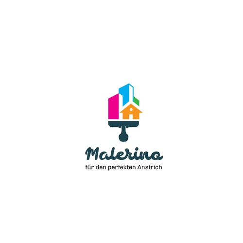 Painting Company Logo Design