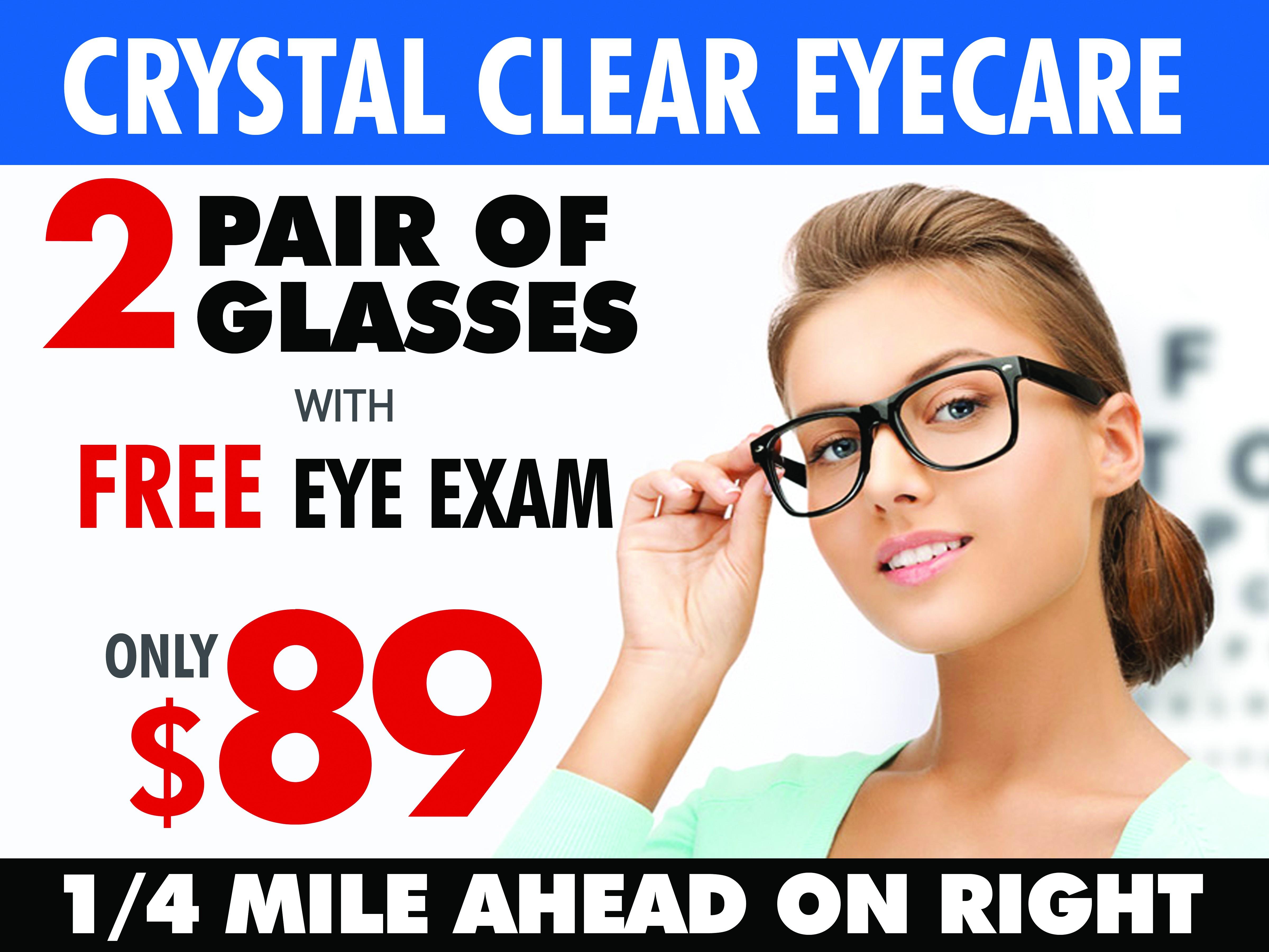 Eyeglass Store Billboard No 2