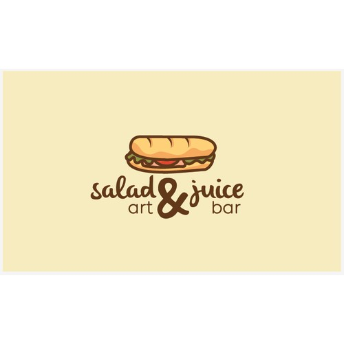Salad and Juice