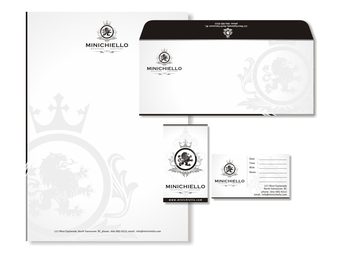 Help MINICHIELLO with a new logo and business card