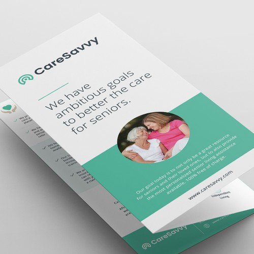 Clean Brochure for CareSavvy