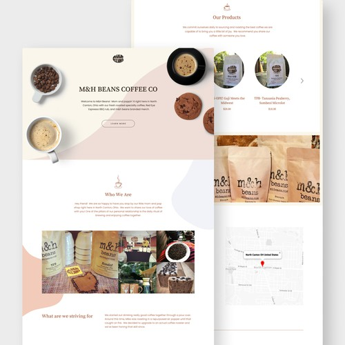 Local Coffee Roaster Ecommerce Site