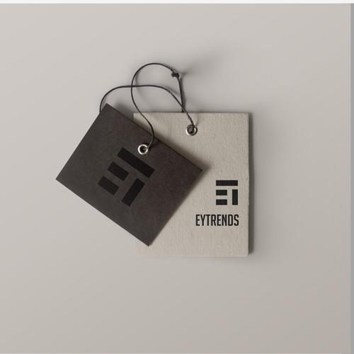 EyTrend Logo for label design