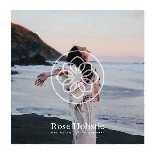 Logo design for Rose Holistic | A women's lifestyle brand
