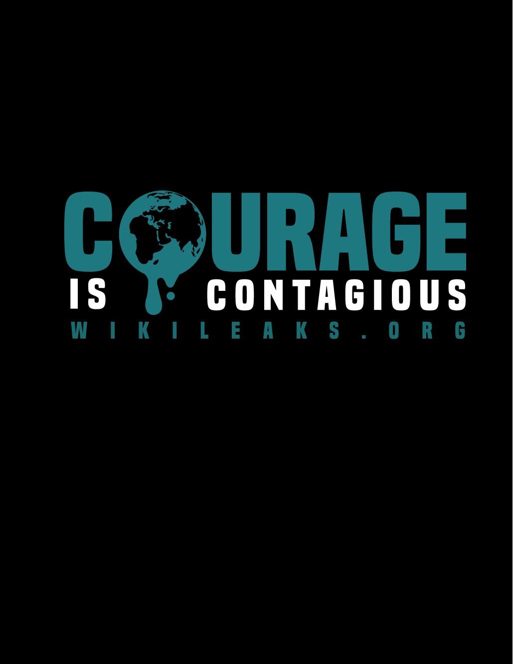 WikiLeaks *Courage* T-Shirt Design Contest - 2 Winning Designs will be chosen
