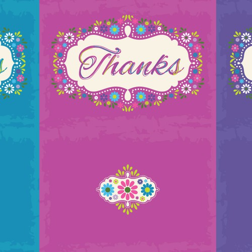 Floral Greeting Card Design - Multiple Winners