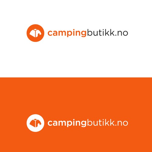 logo design for a camping equipment supply company