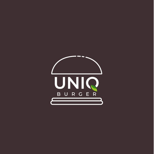 Logo Design for Trendy Plant-Based Burger Pop-up