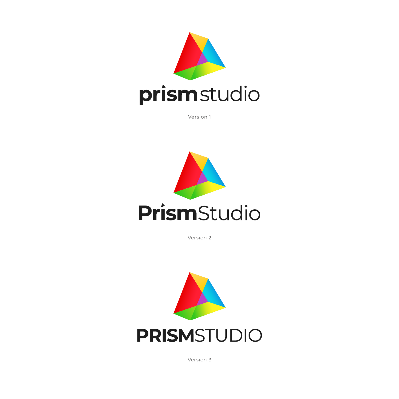 NEW creative logo design for Prism Studio