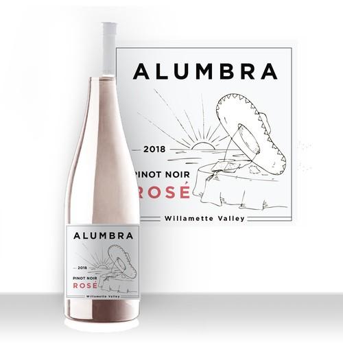 Design a unique wine label for a unique Latina wine co. in Oregon!