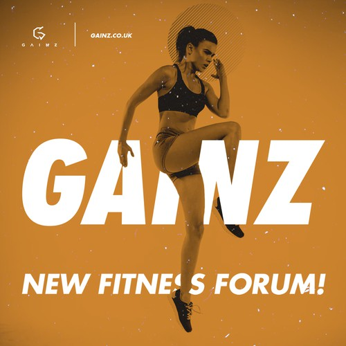 Ad for fitness forum