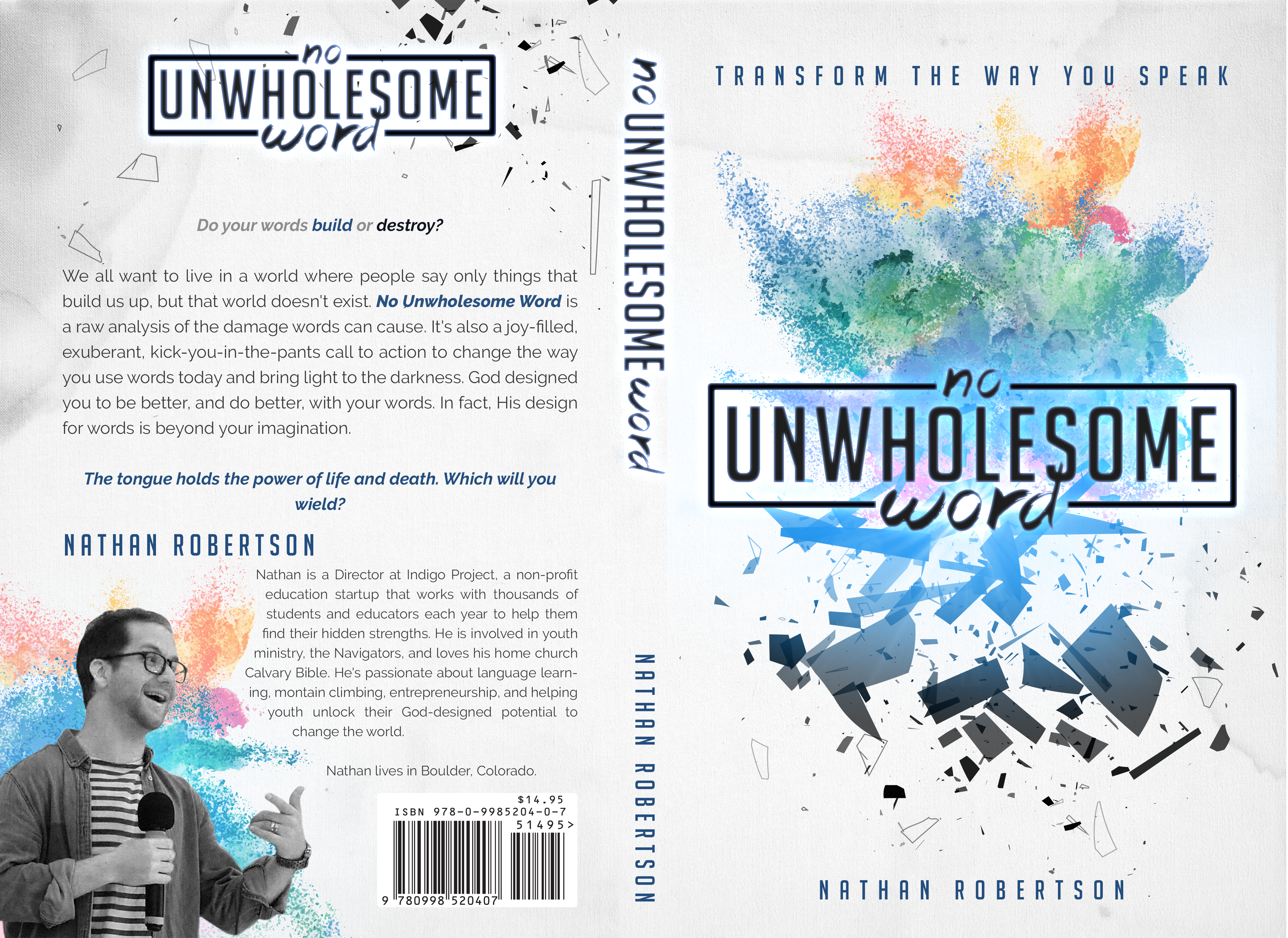 Christian Author needs compelling/powerful book cover