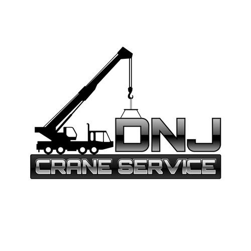 company logo for DNJ Crane Service