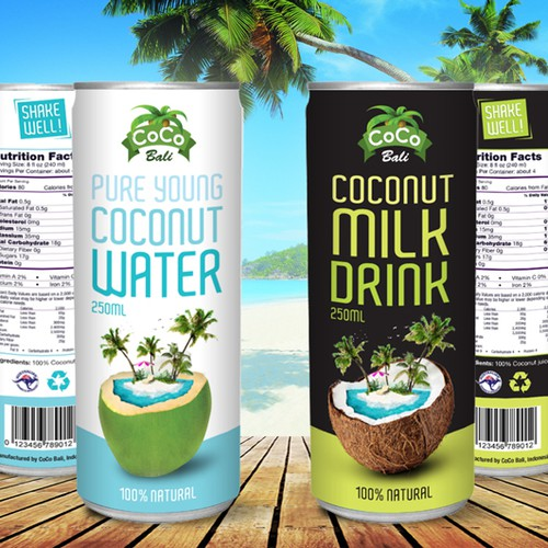 Coconut Water & Milk Drink