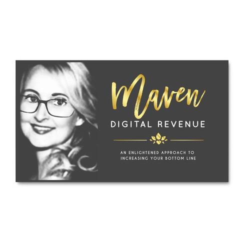 Business card logo concept