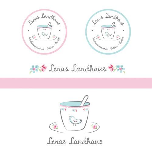 logo for lenas landhaus