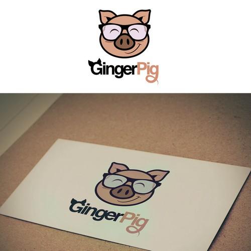 Cute Pig Logo