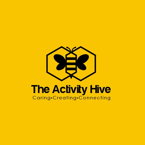 Creative logo for The Activity Hive