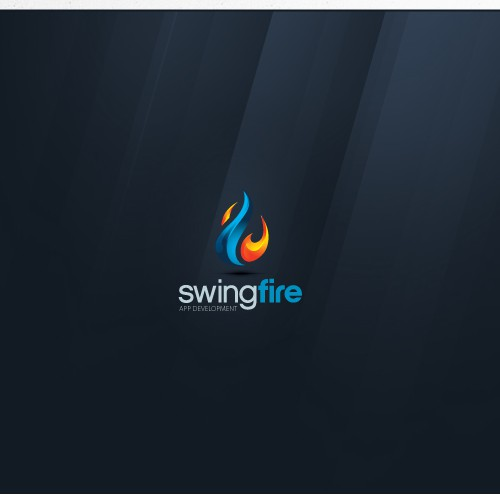 Design logo for Swingfire - An app development company!