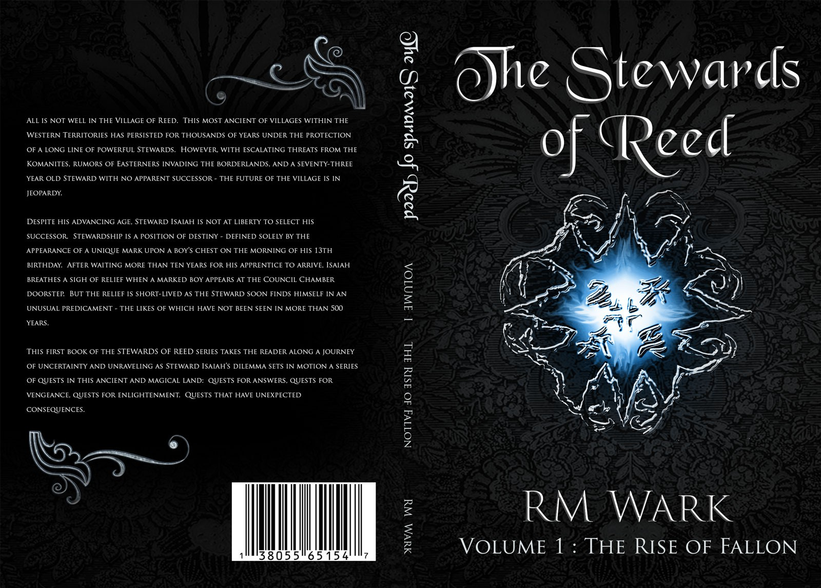 Create the next book or magazine cover for RM Wark