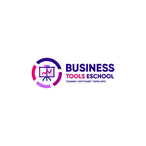 Professional Modern Minimalist Logo Design for Accounting & Financial Company