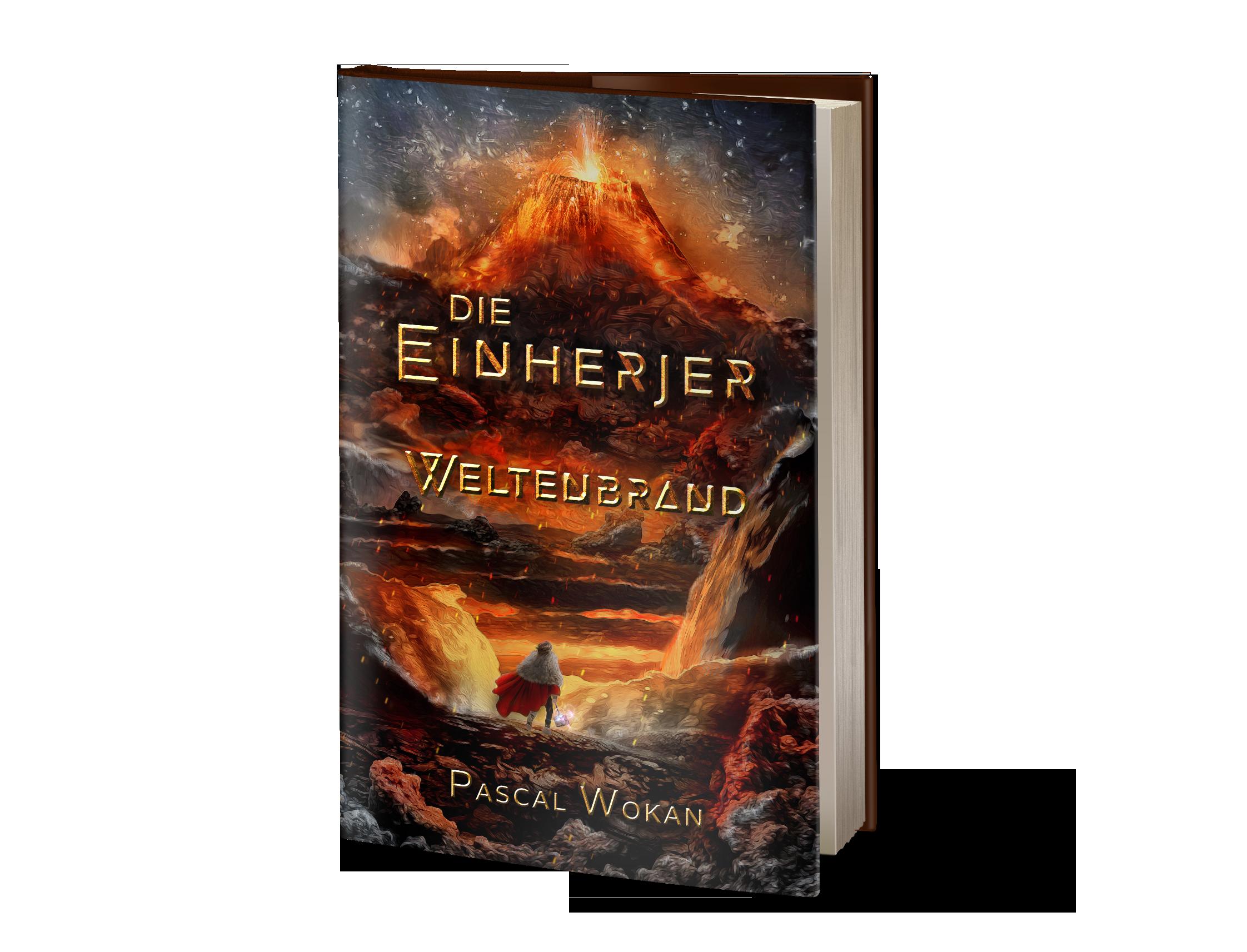 """cover for ebook - """"Die Einherjer - Weltenbrand"""""""