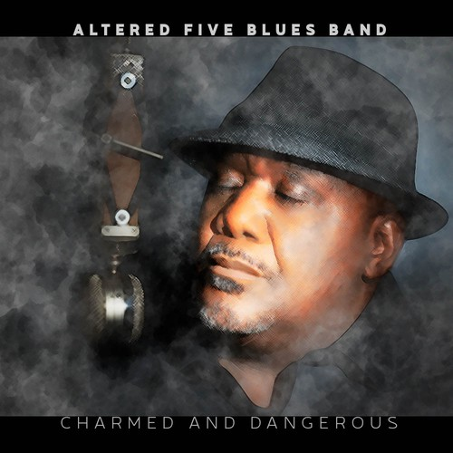 Moody cover for a blues CD.